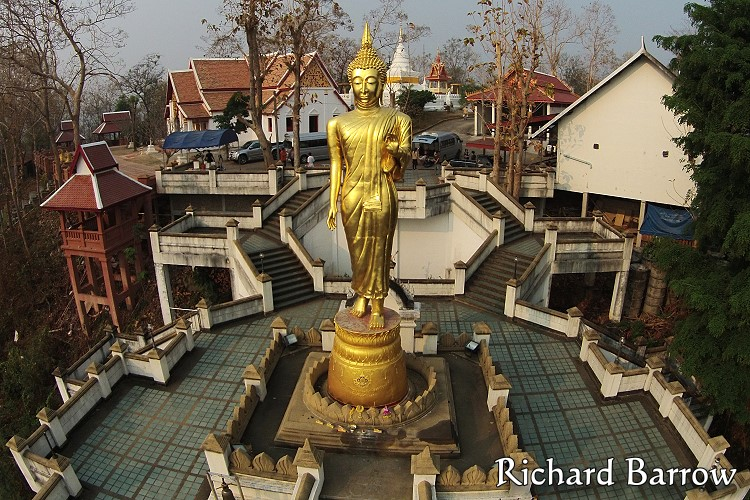 Wat Phrathat Khao Noi – Thailand from Above