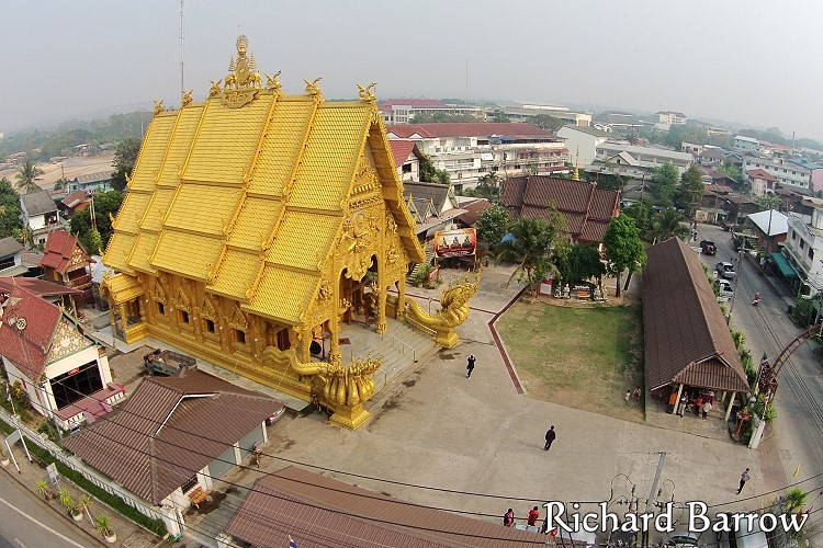 Wat Sri Pan Ton Thailand From Above