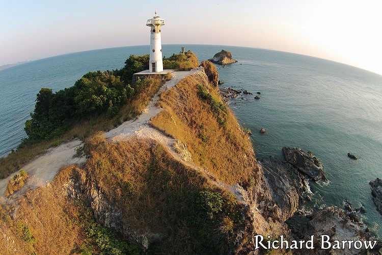 Lighthouse at Laem Tanod
