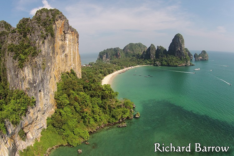 Railay Beach – Thailand from Above